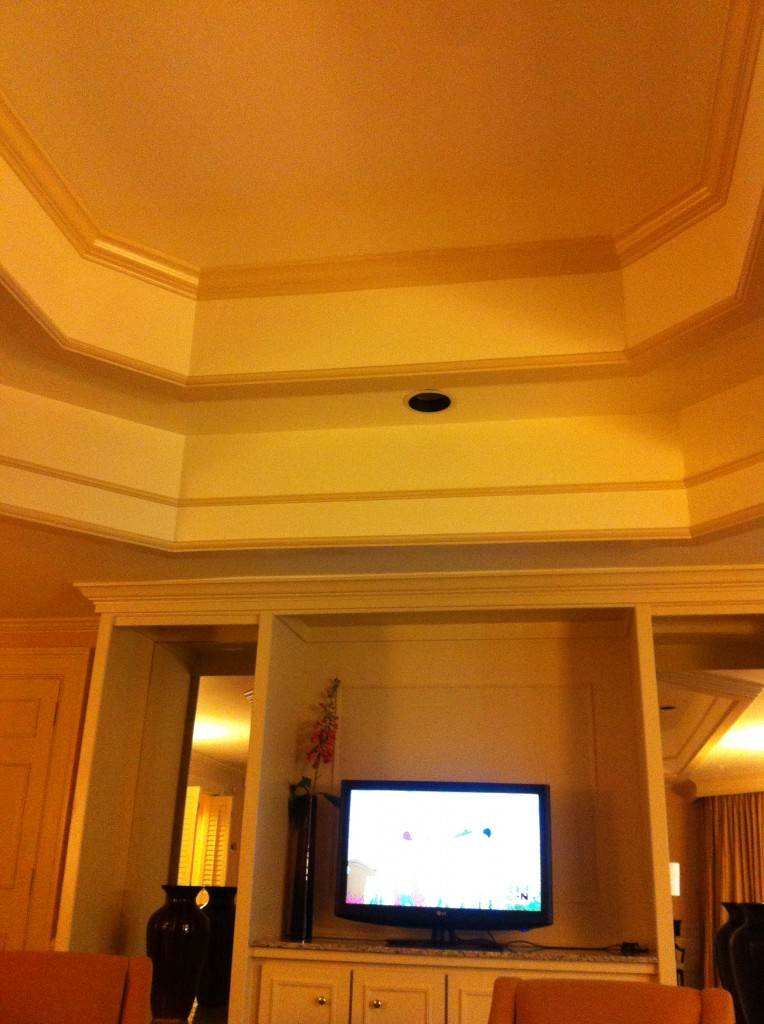 Couffered ceilings. Gorge.