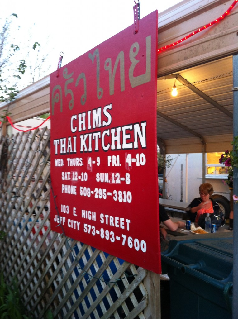 'Cause who doesn't feel like some Thai food when you're camping?