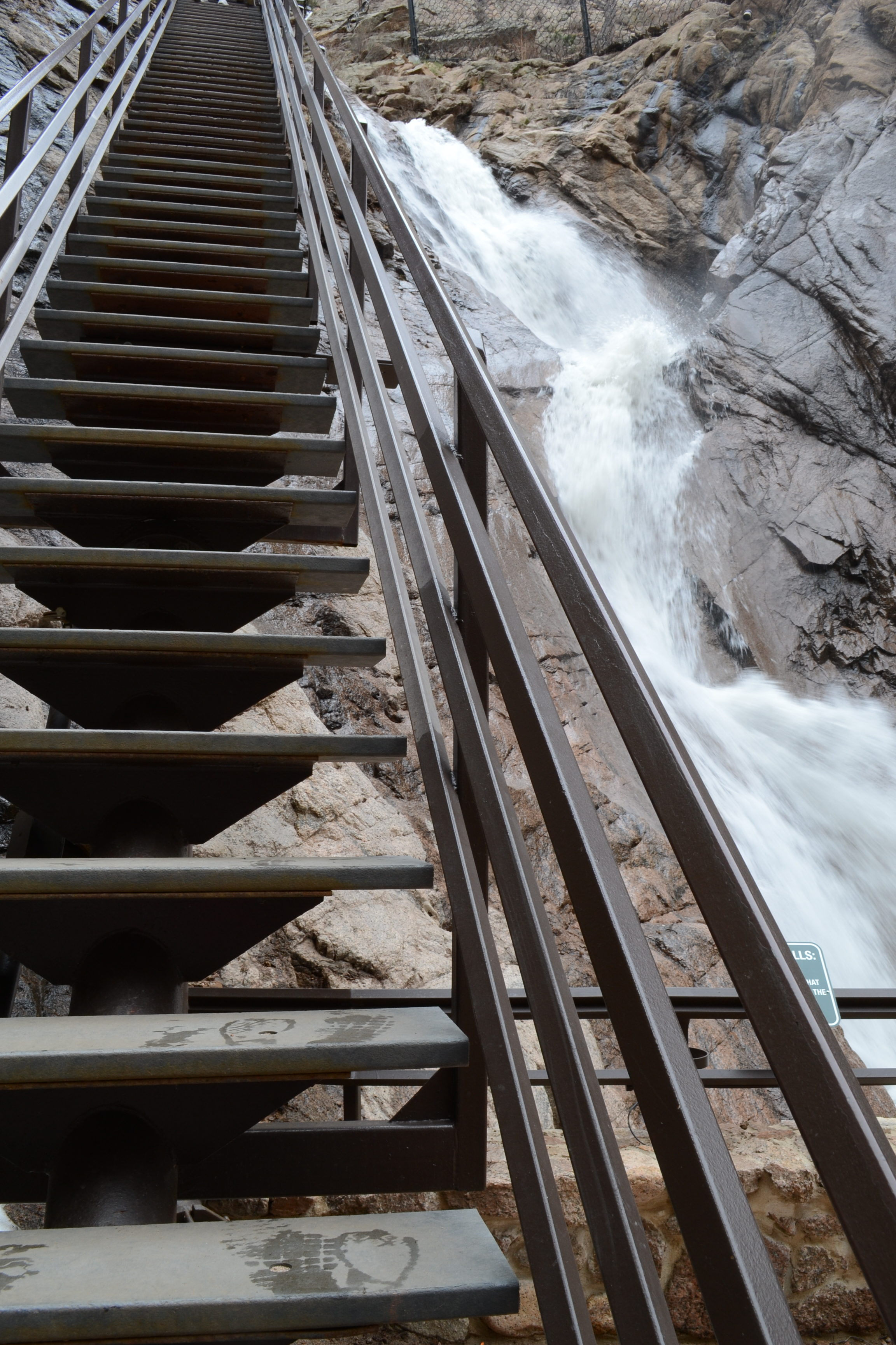 Seven Falls, Waterfalls, Stairs, Hiking, Hiking With Kids, Colorado Springs,